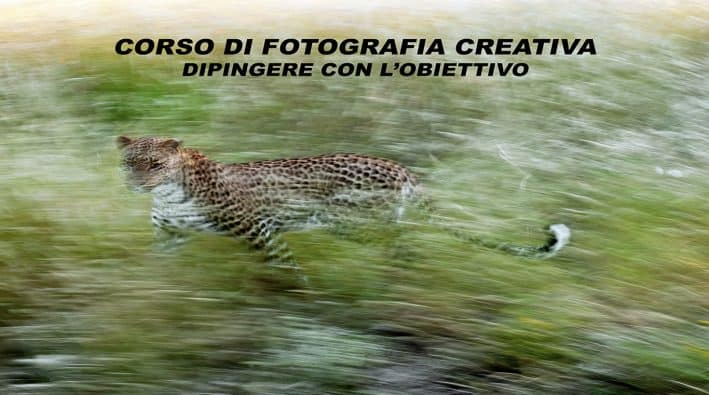 Corso di Fotografia creativa dipingere con l'obiettivo